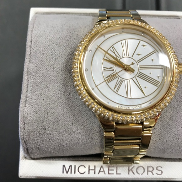 e178a1a73c38 Mk gold watch brand new with box and lable. NWT. Michael Kors